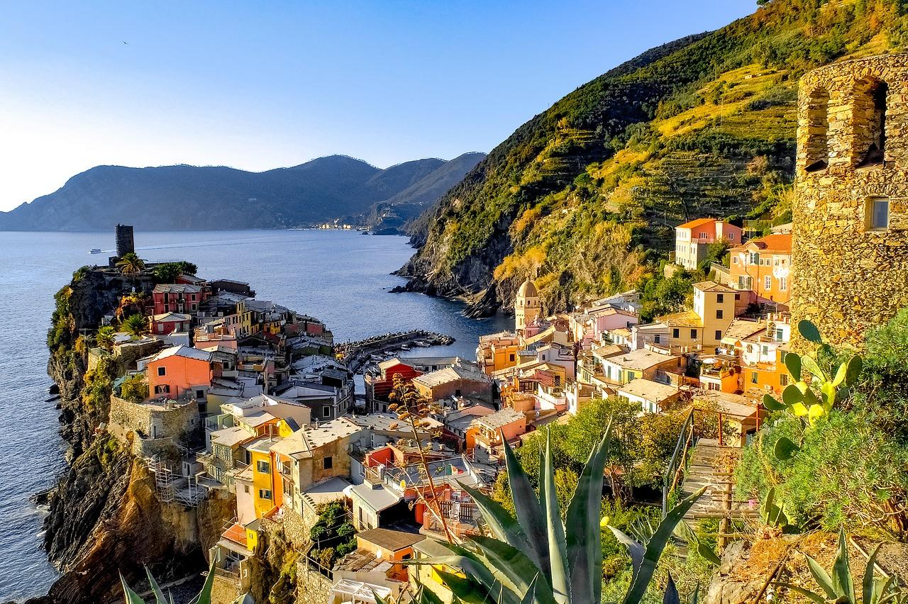 The magnificent part of Cinque Terre