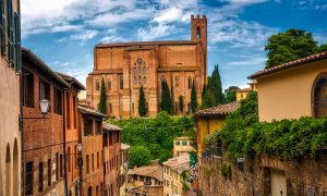 Historical city of Siena